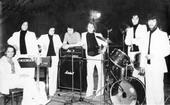 1980г. Перед концертом на Олимпиаде-80.
