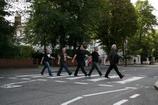 2009г. Лондон. Легендарный пешеходный переход у студии Abbey Road