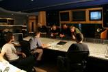 2009г. Лондон. Группа «Цветы» на студии                  Abbey Road