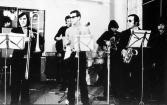 1971г. Выступление «Цветов» в 8-ой столовой МГУ с Медной группой.