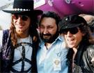 Бон Джови и Клаус Майне (Scorpions) в Центре Стаса Намина